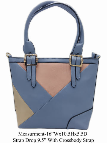 Blue Shoulder Bag - R&M BOUTIQUE