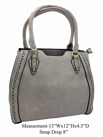 Grayl Vegan Leather Shoulder Bag - R&M BOUTIQUE