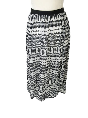 Chiffon Lining Open Split Skirt Beach - R&M BOUTIQUE