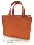 Genuine Leather British Style Tote Bag - R&M BOUTIQUE