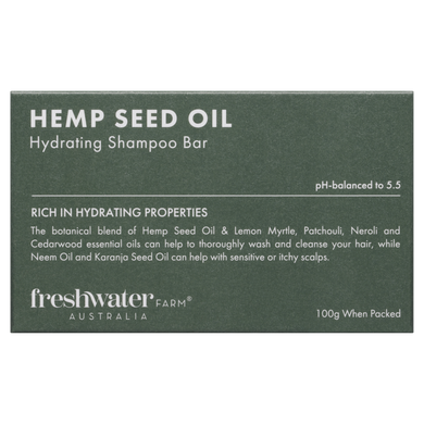 Hemp Seed Oil Hydrating Shampoo Bar 100g