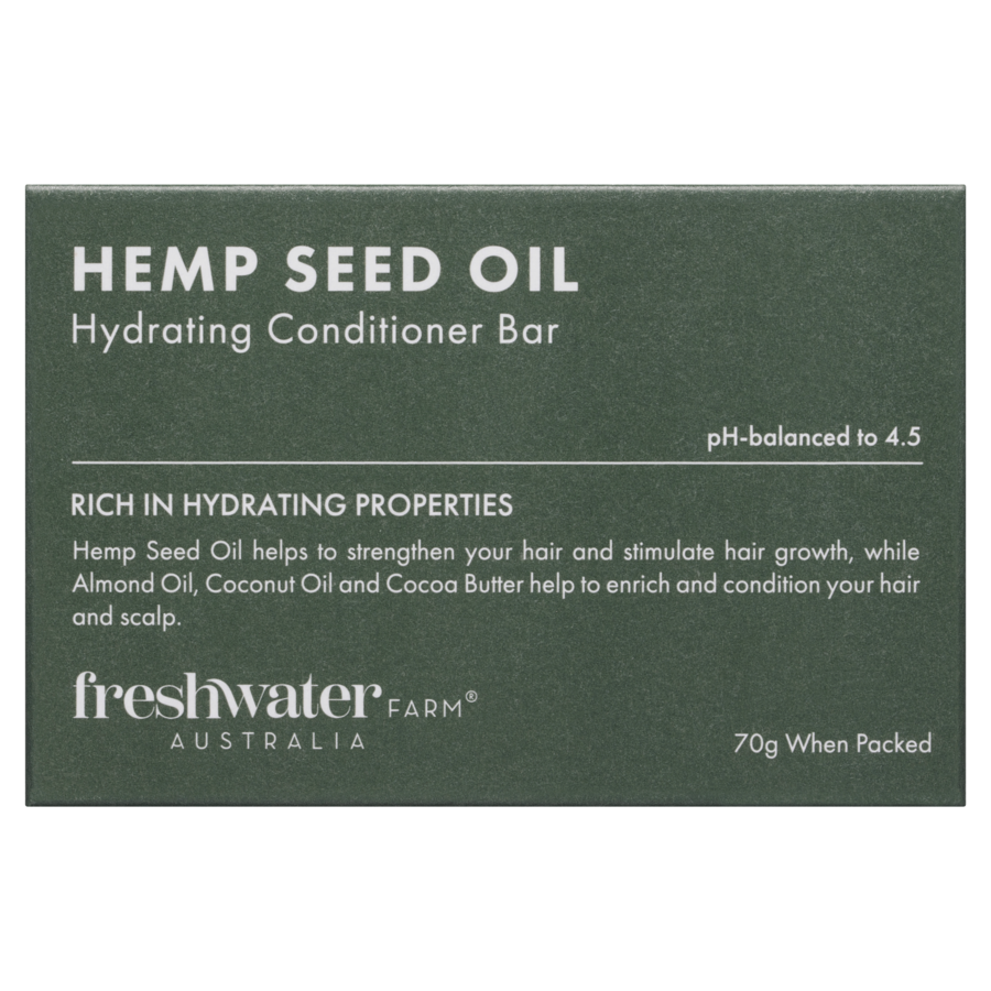 Hemp Seed Oil Hydrating Conditioner Bar 70g