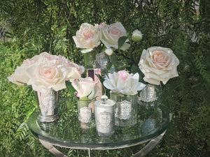 SEVEN ROSE BOUQUET IN PINK BLUSH - SMB02