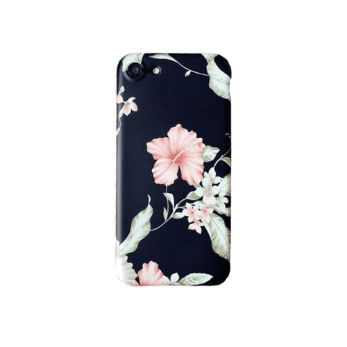 Flower Case for iPhone® with Finger Ring