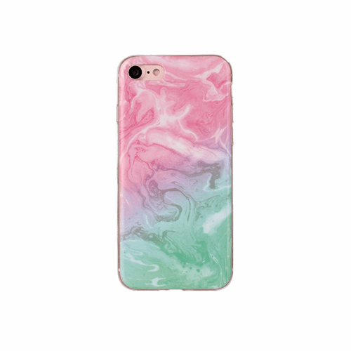 Blushed Sea Marble Case for iPhone®