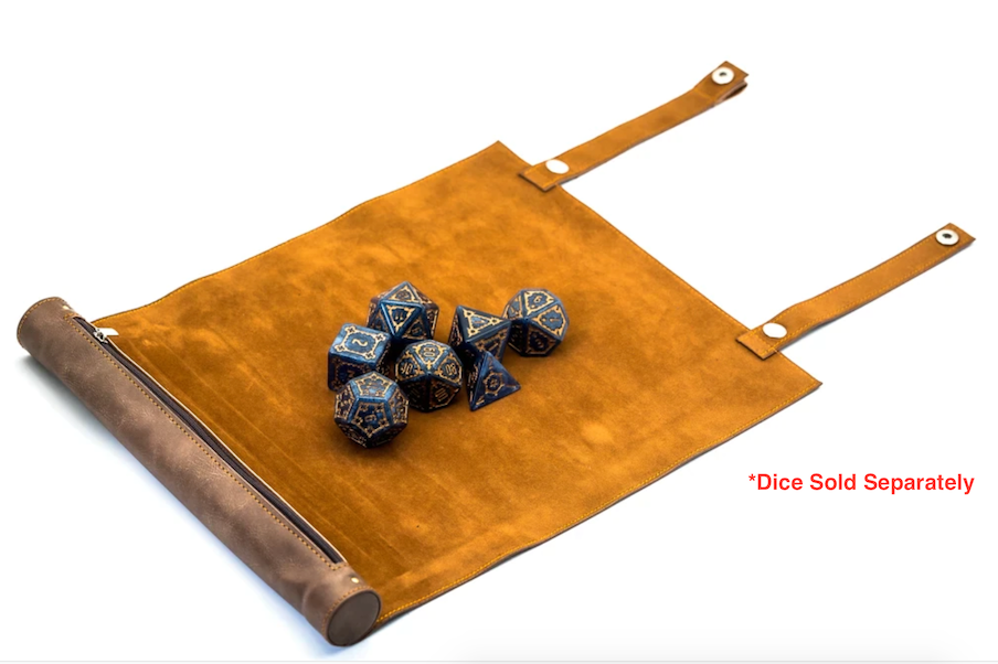 Dice mat and pouch