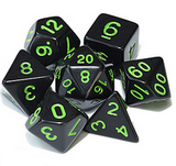 Midnight Collection - RPG Dice Sets