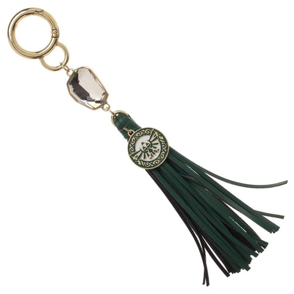 Hyrule Triforce Keychain With Tassel - Zelda Keychain [Limited Stock]