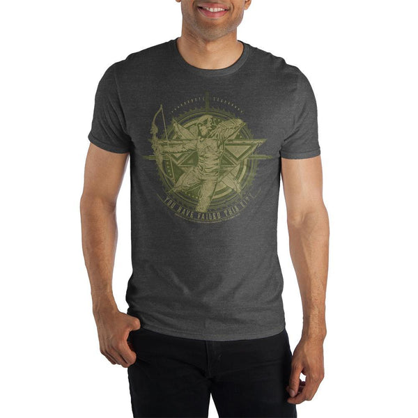 Green Arrow T-Shirt - You Have Failed This City - Men's Tee