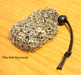 Chainmail RPG Dice Bag - Role Playing Game Dice Pouch