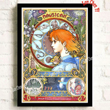 Studio Ghibli - Full Set of 10 Artistic Montage Posters
