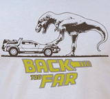 Back Too Far - Back To The Future Parody T-Shirt (Womens)