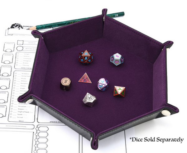 RPG Dice Tray - Portable Gaming Dice Tray