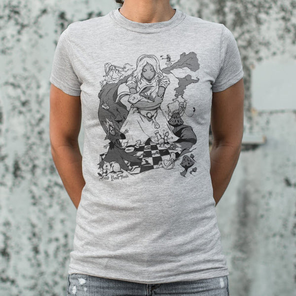 Alice In Wonderland T-Shirt (Womens)