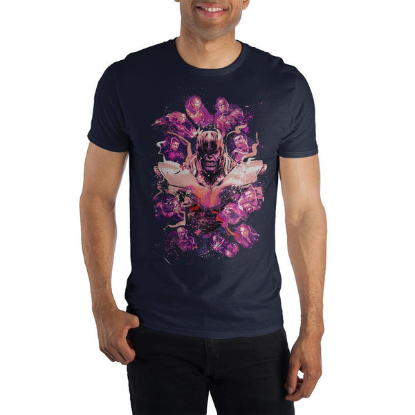 Thanos And The Avengers - Marvel Avengers End Game T-shirt