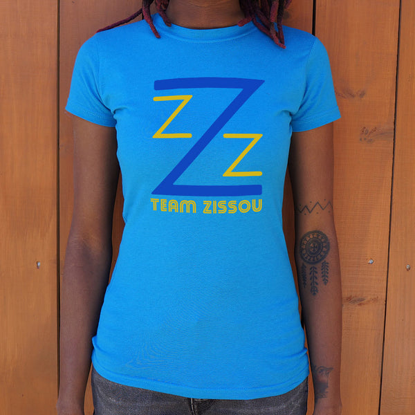 Team Zissou T-shirt (Womens) - The Life Aquatic T-shirt