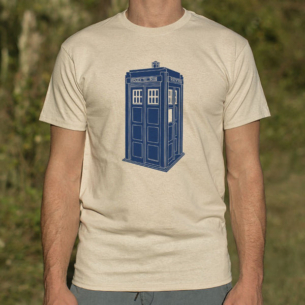 Doctor Who Tardis T-shirt Mens