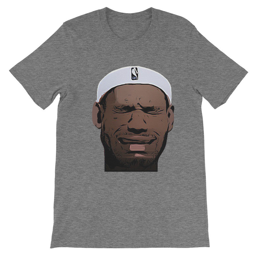 Crying LeBron short sleeve t-shirt