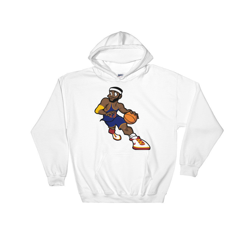 Cartoon LeBron Hooded Sweatshirt