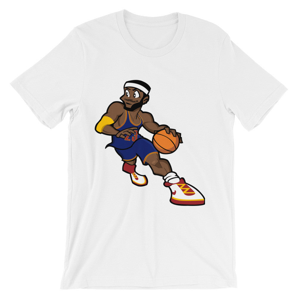 Cartoon LeBron short sleeve t-shirt