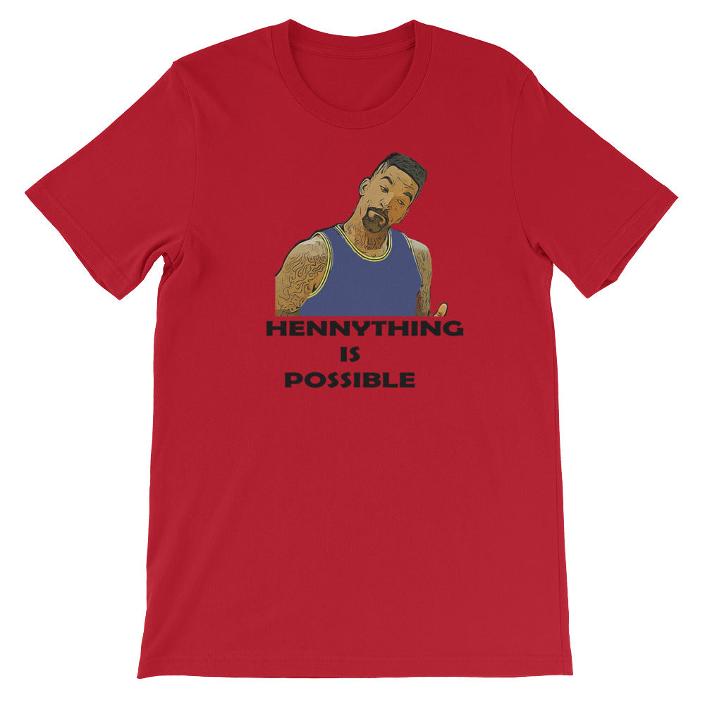 "JR ""HennyThing Is Possible"" Short-Sleeve Unisex T-Shirt"