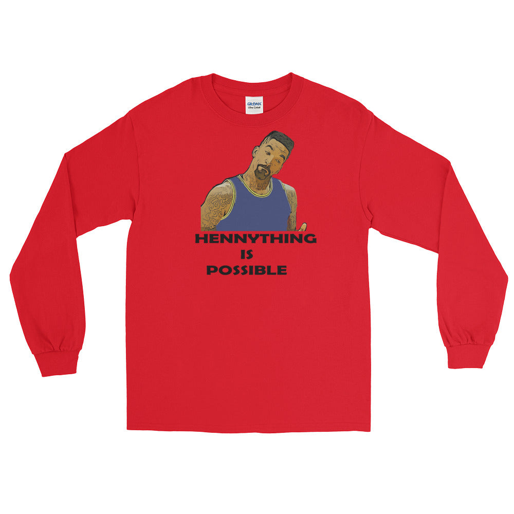 "JR ""HennyThing Is Possible"" Long Sleeve T-Shirt"