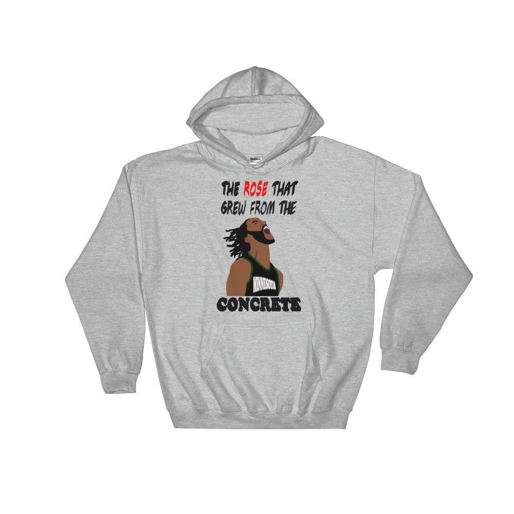 D Rose Hooded Sweatshirt