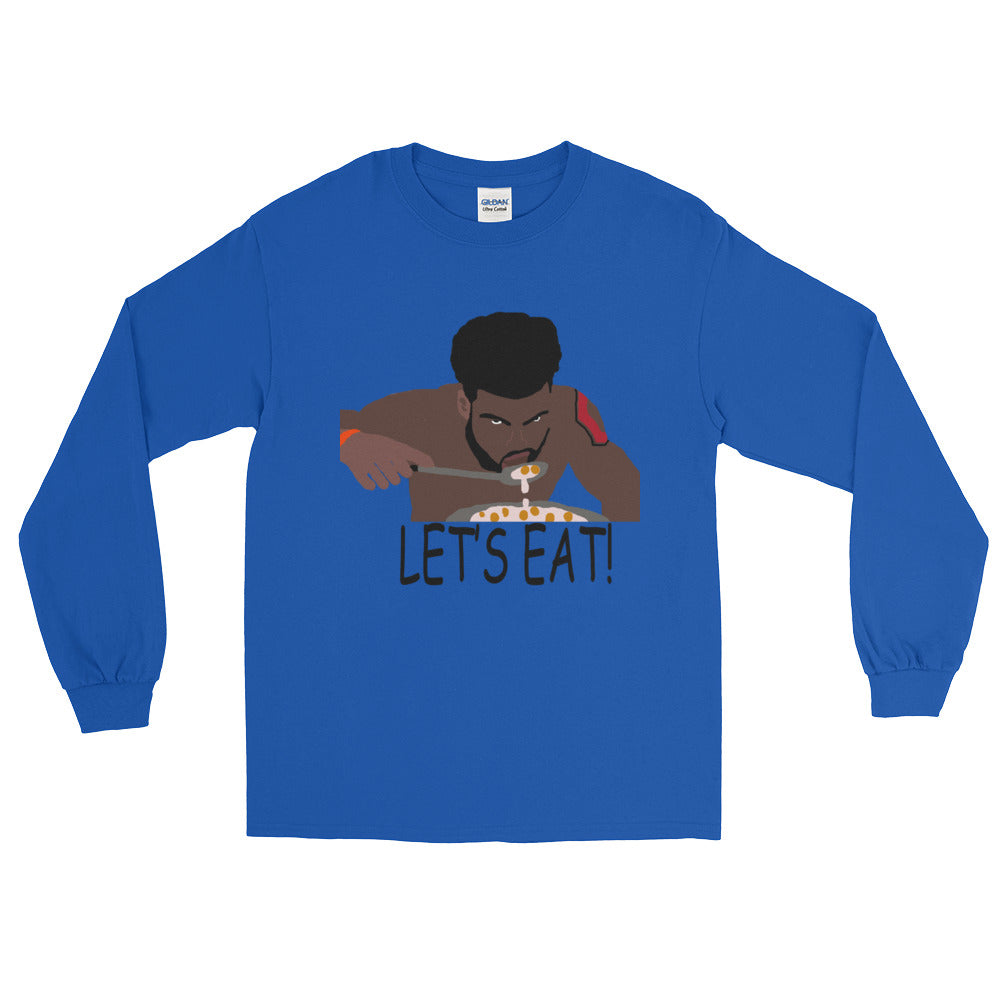 "Zeke ""Let's Eat"" Long Sleeve T-Shirt"
