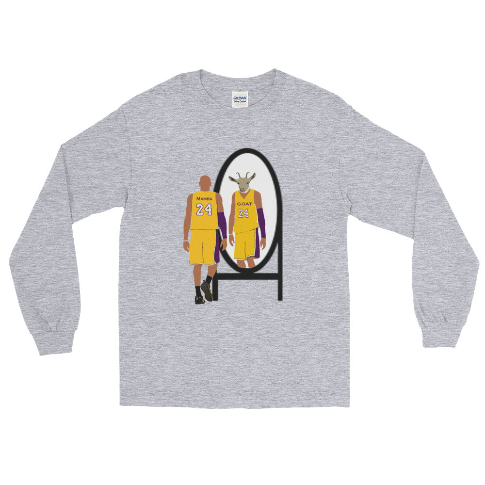"Mamba ""The Goat"" Long Sleeve T-Shirt"