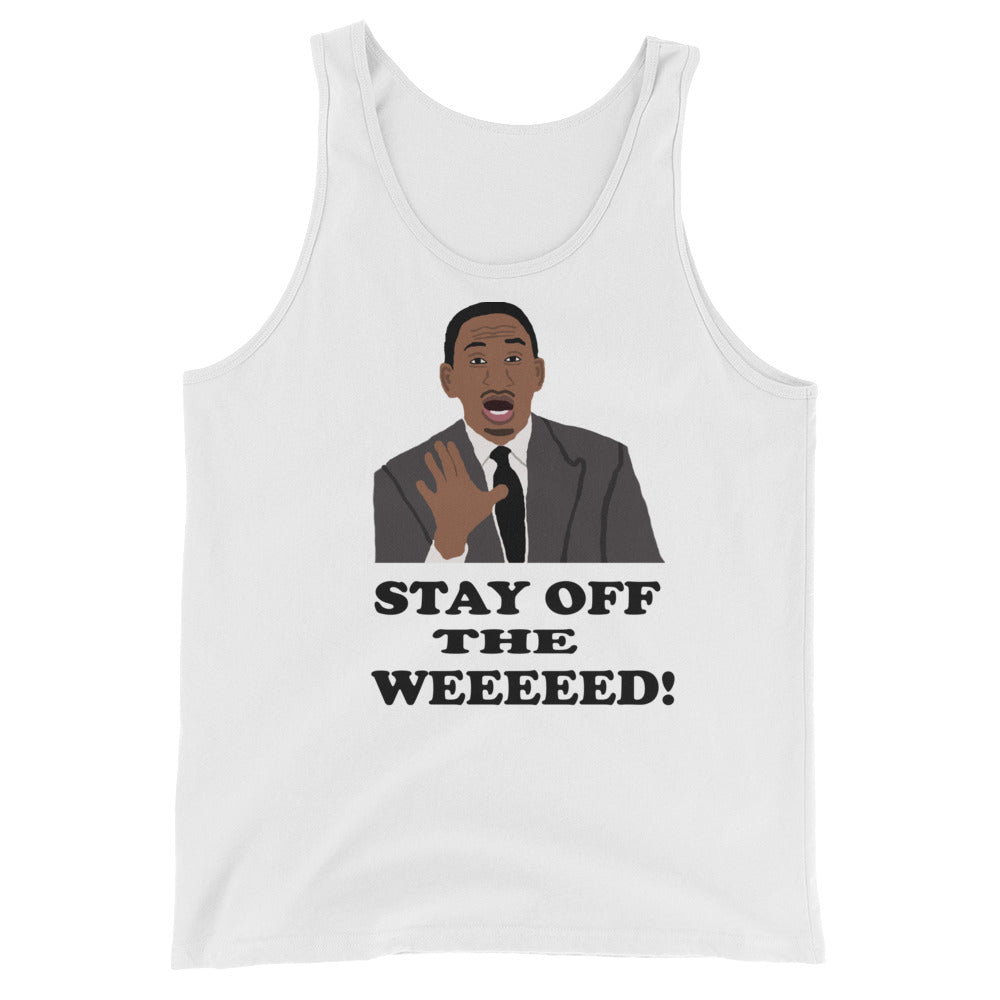 Stay Off The Weed Unisex  Tank Top