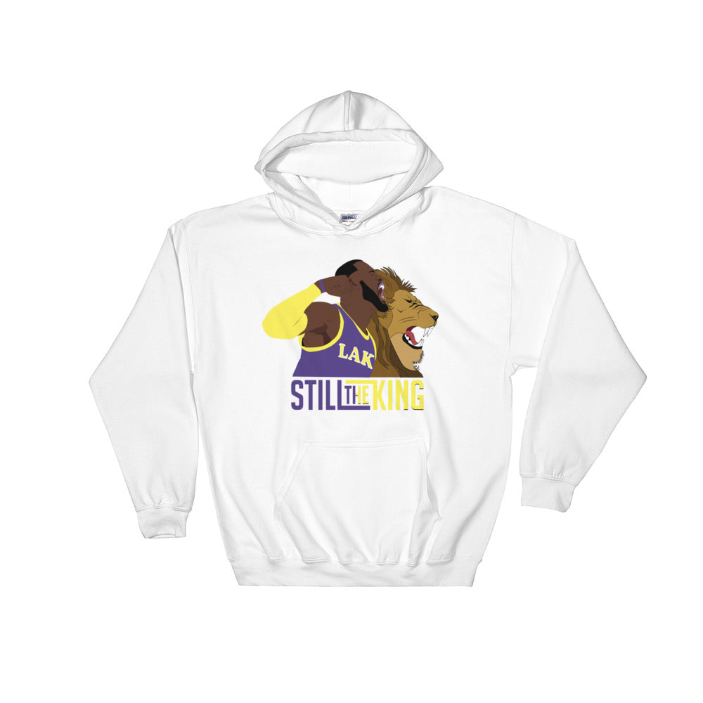 LBJ Still The King Hooded Sweatshirt