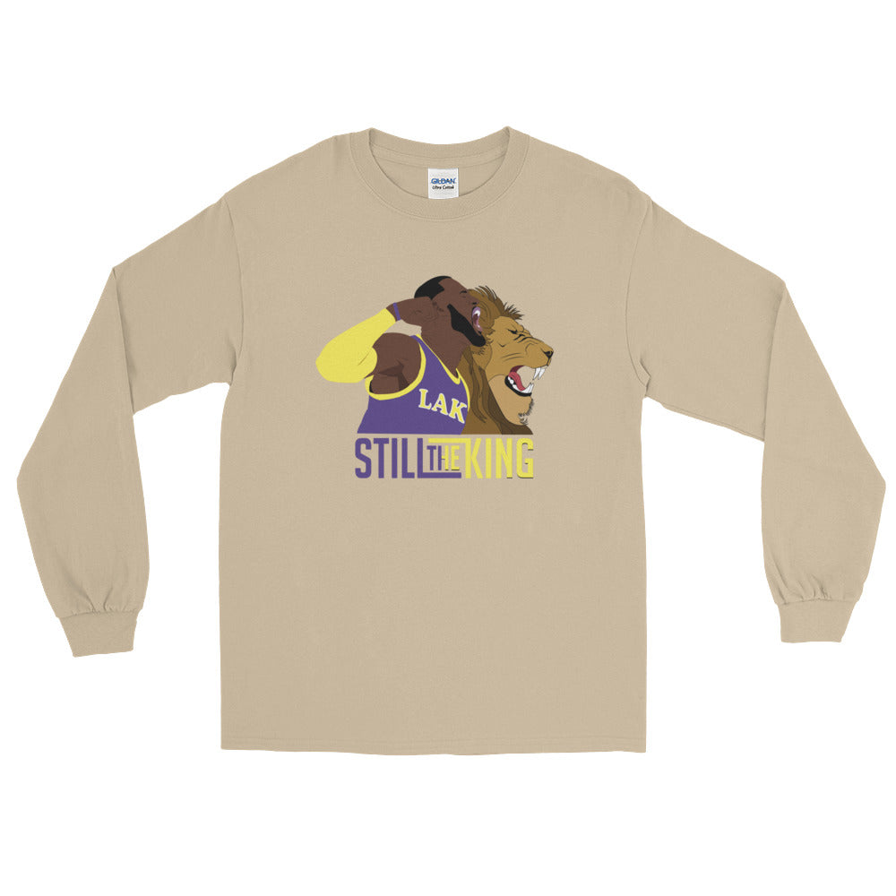 LBJ Still The King Long Sleeve T-Shirt