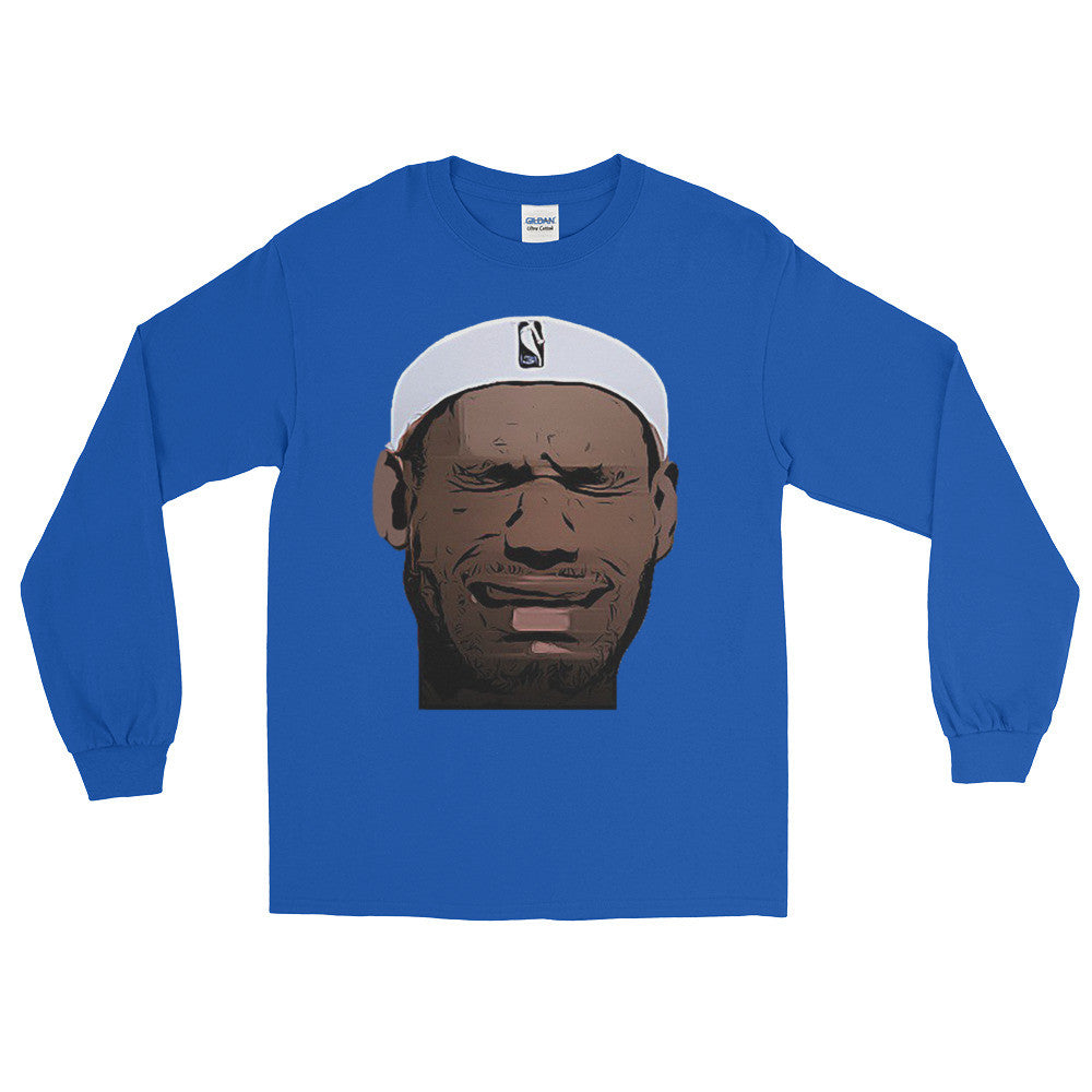 Crying LeBron Long Sleeve T-Shirt