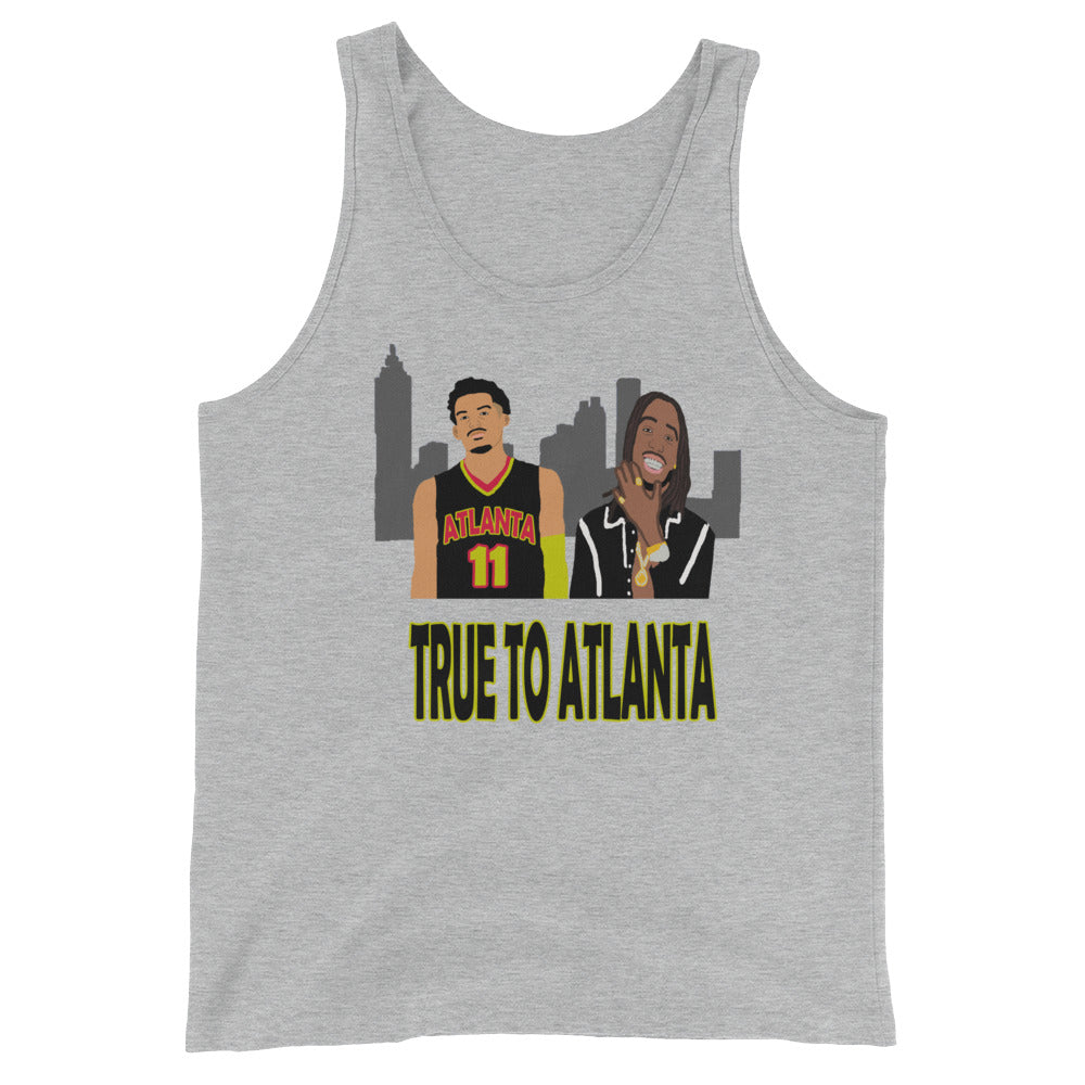True To Atlanta Unisex  Tank Top
