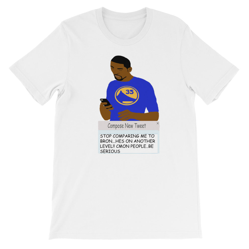 KD Tweeting Short-Sleeve Unisex T-Shirt