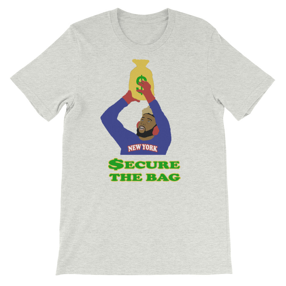 OBJ Secure The Bag Short-Sleeve Unisex T-Shirt