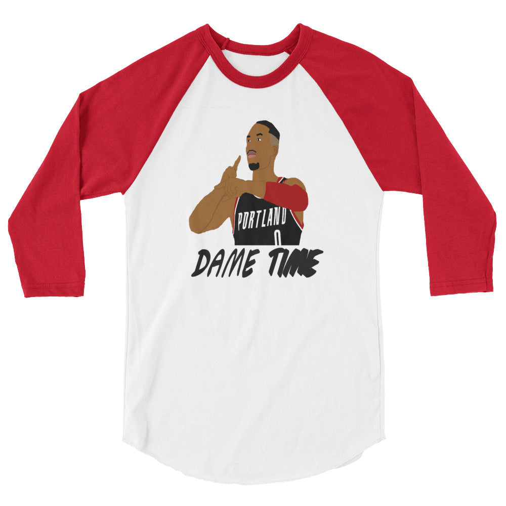 Dame Time 3/4 sleeve raglan shirt