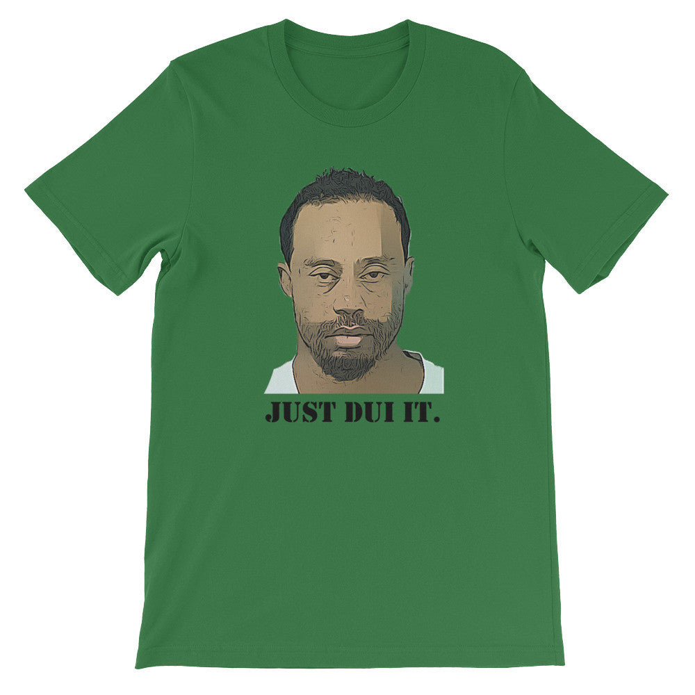 "Tiger ""JUST DUI IT"" short sleeve t-shirt"