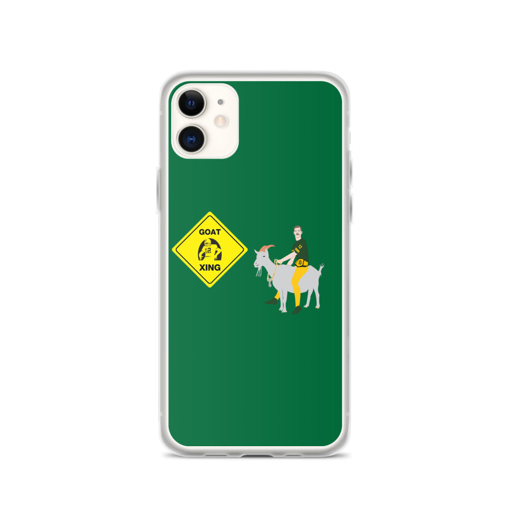 Rodgers GOAT Xing iPhone Case