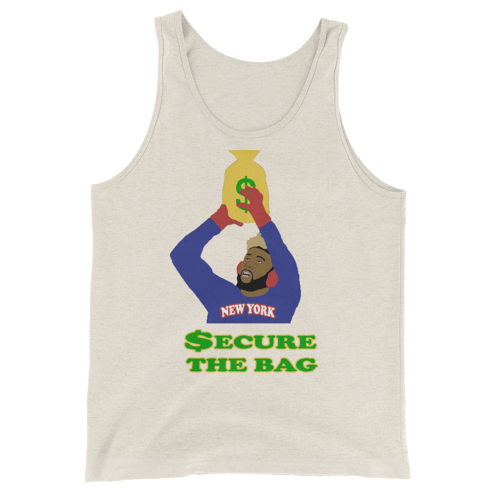 OBJ Secure The Bag Unisex Tank Top