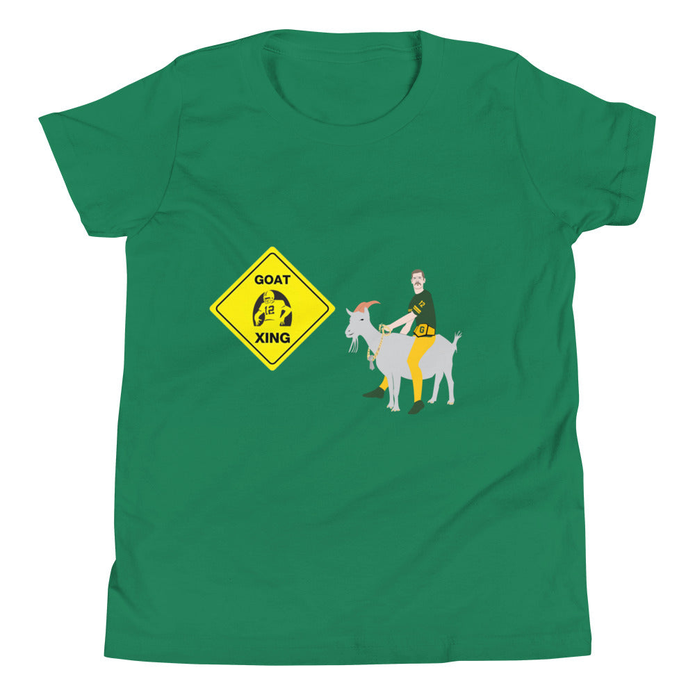 Rodgers GOAT Xing Youth Tee Shirt