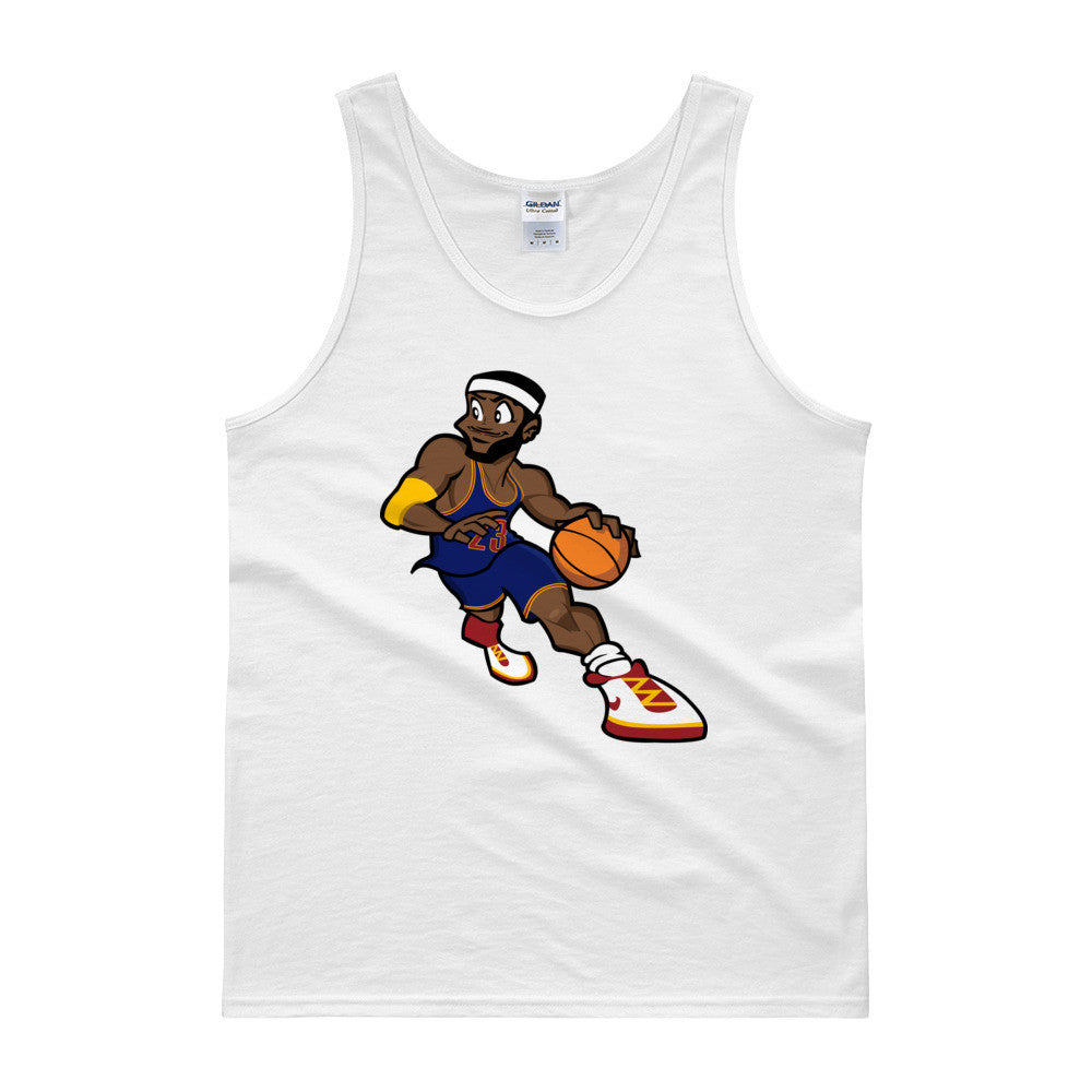 Cartoon LeBron Tank top