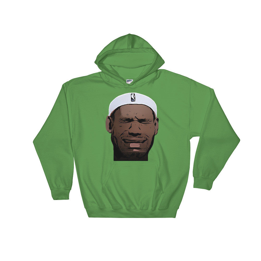 Crying LeBron Hooded Sweatshirt