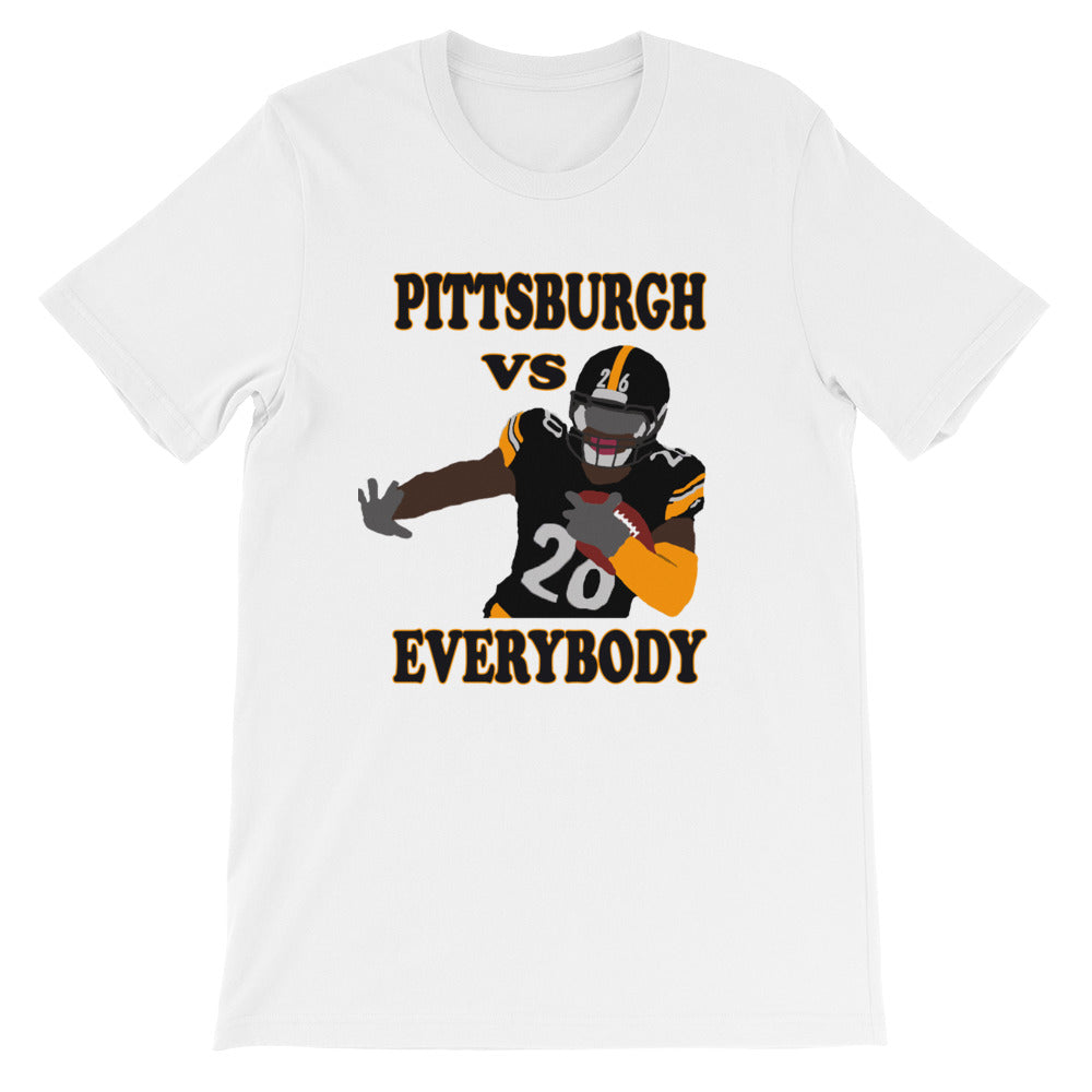 Pittsburgh Vs Everybody Short-Sleeve Unisex T-Shirt