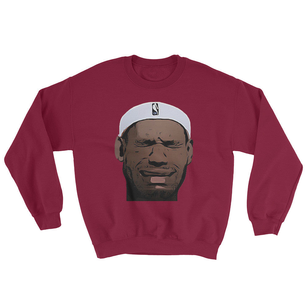 Crying LeBron Sweatshirt
