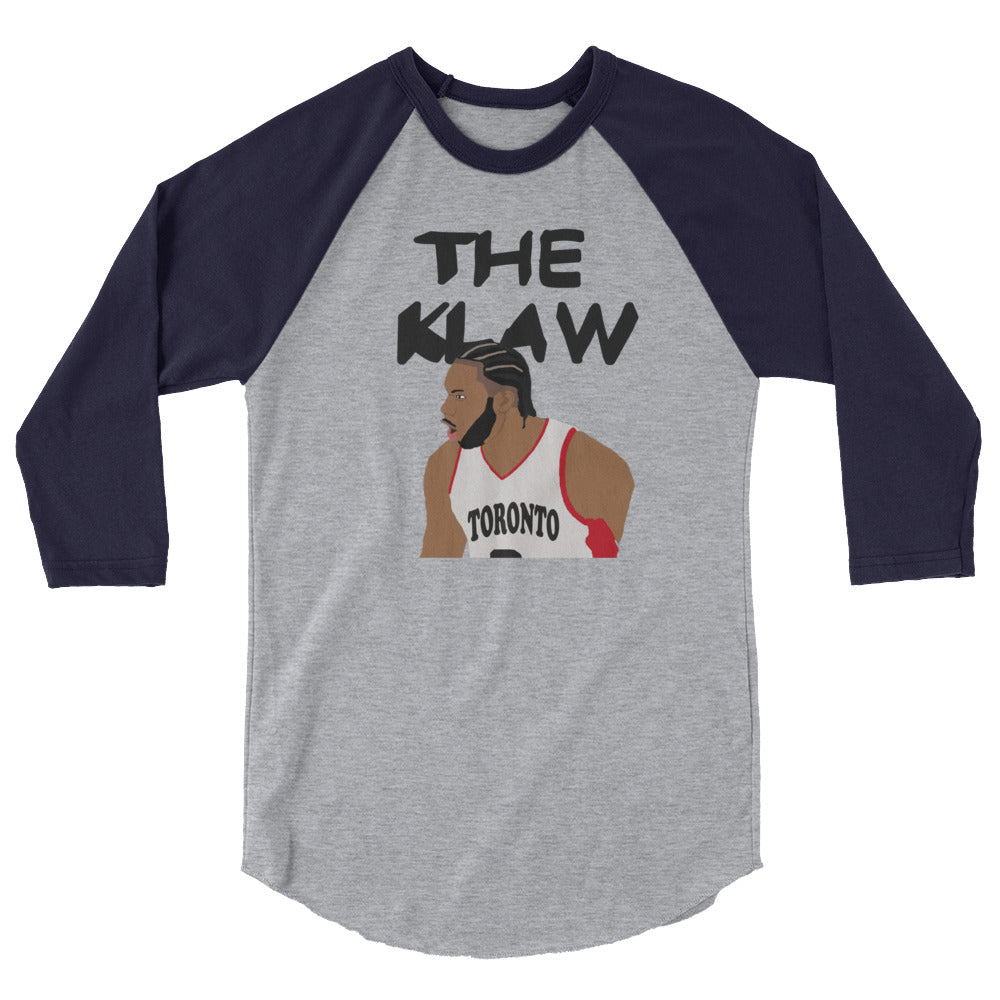 The Klaw 3/4 sleeve raglan shirt