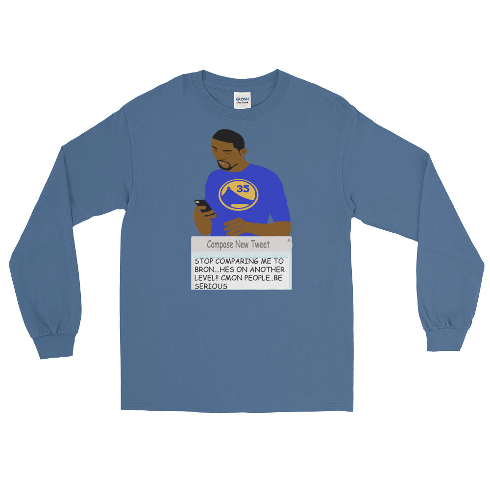 KD Tweeting Long Sleeve T-Shirt