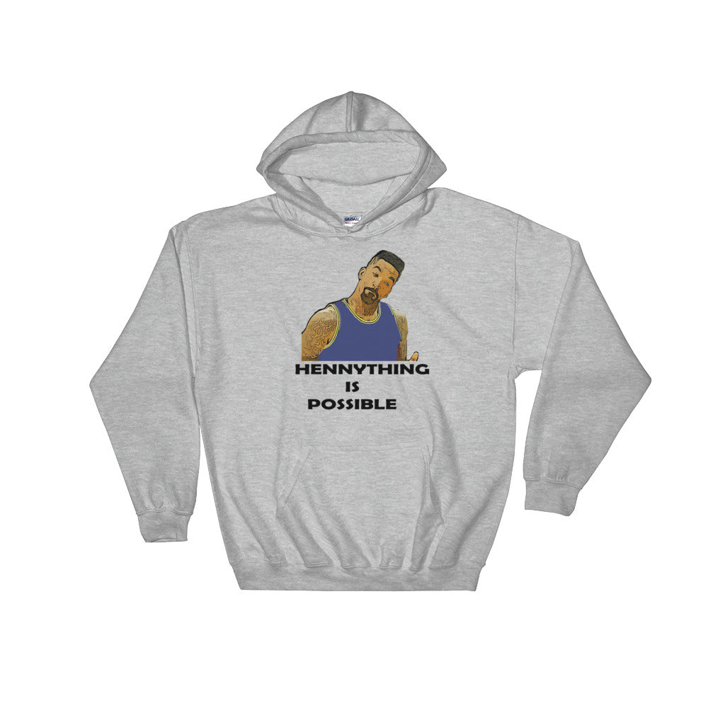 "JR ""HennyThing Is Possible"" Hooded Sweatshirt"
