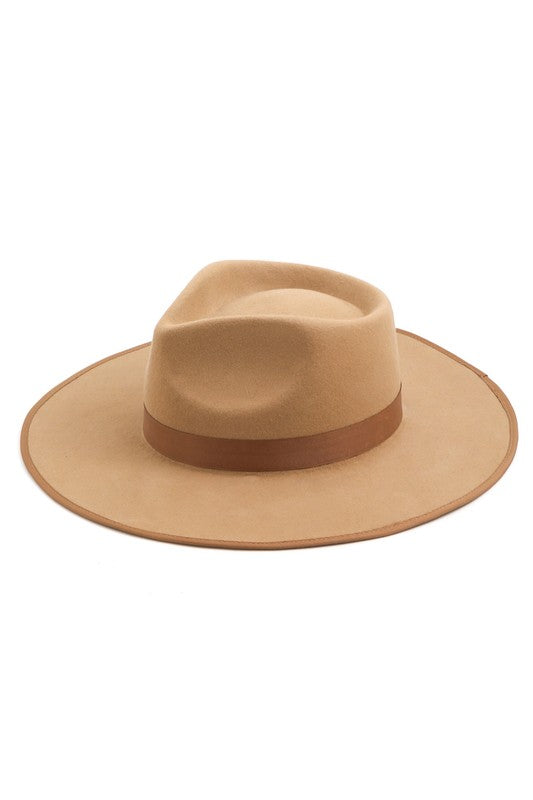 Brown Rancher Hat