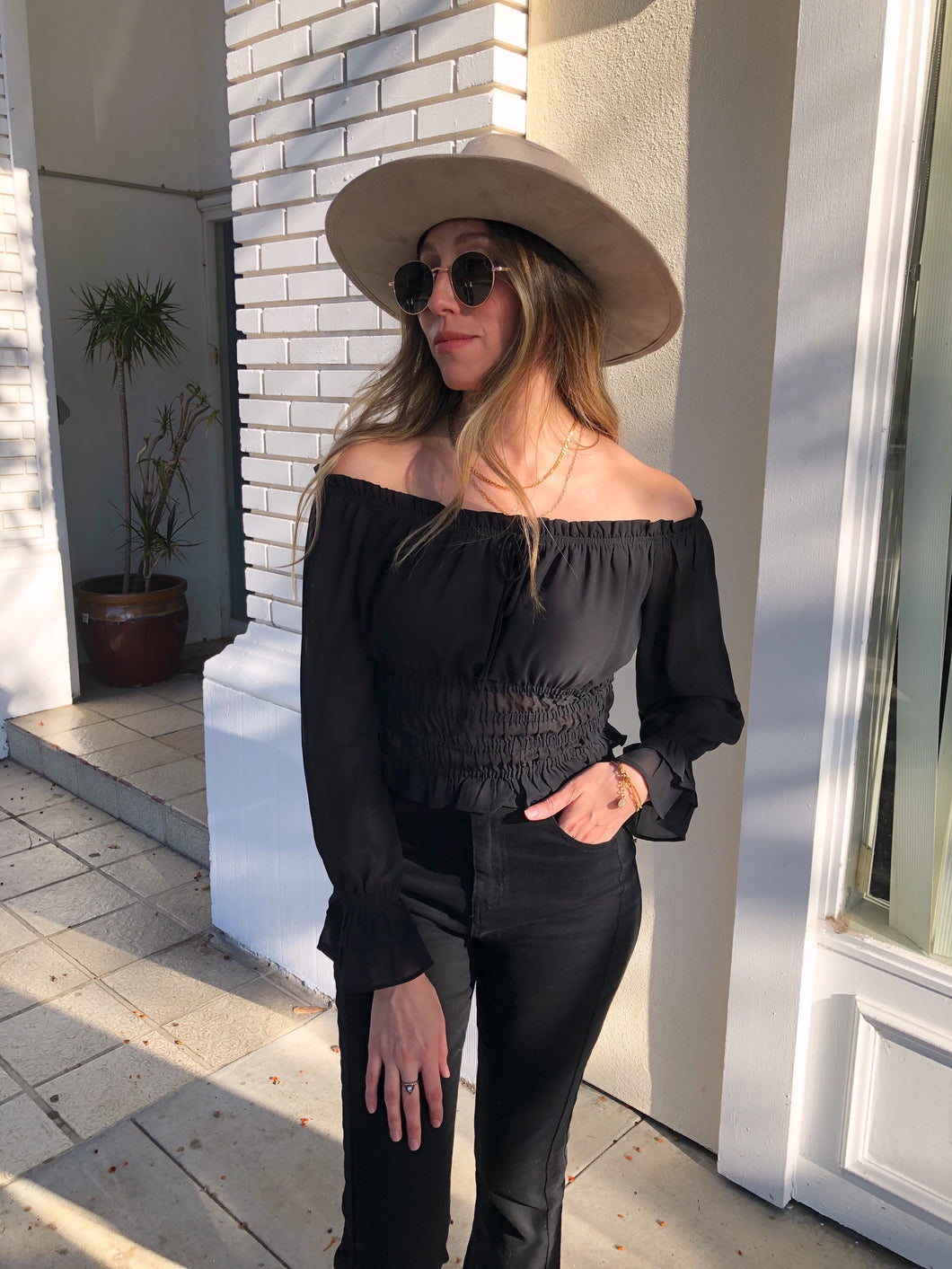 Gia Off The Shoulder Top
